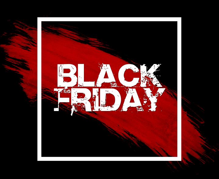 Carteles de Black Friday para descargar e imprimir