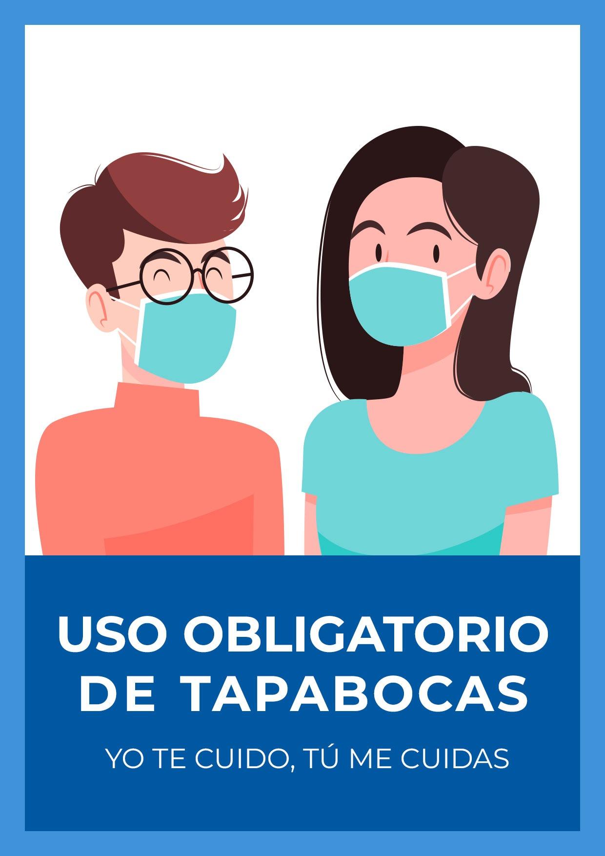 letrero uso obligatorio TAPABOCAS para imprimir3